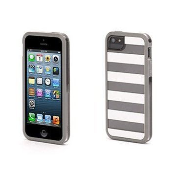 iPhone 5 / 5S / SE Griffin Cabana Separates Case White / Grey