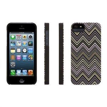 iPhone 5 / 5S / SE Griffin Chevron Suojakotelo Musta