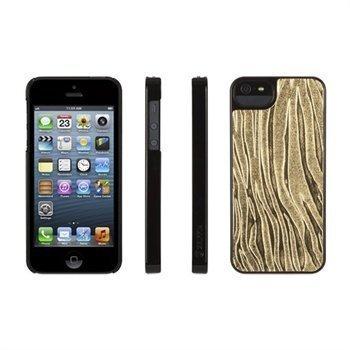iPhone 5 / 5S / SE Griffin Moxy BigCat Kotelo Kultainen / Musta