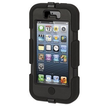 iPhone 5 / 5S / SE Griffin Survivor Kotelo Musta