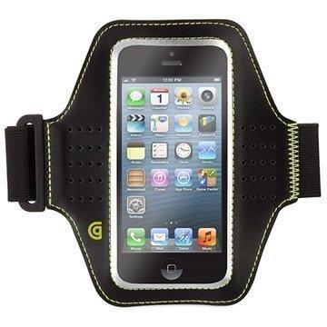 iPhone 5 / 5S / SE Griffin Trainer Käsivarsihihna Musta