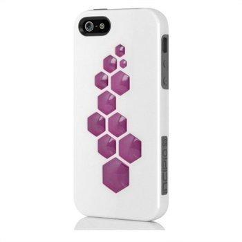 iPhone 5 / 5S / SE Incipio IPH-862 CODE Napsautuskuori Valkoinen / Harmaa / Pinkki