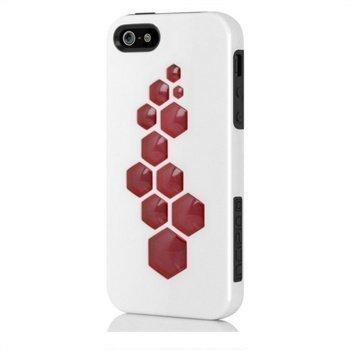 iPhone 5 / 5S / SE Incipio IPH-863 CODE Napsautuskuori Valkoinen / Harmaa / Punainen
