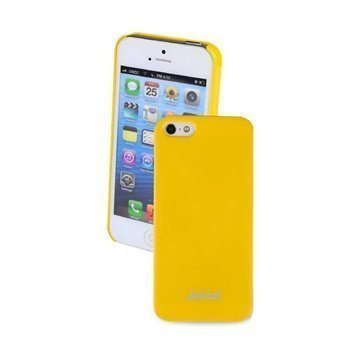 iPhone 5 / 5S / SE Jekod Shiny Case Yellow