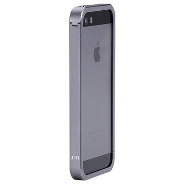 iPhone 5 / 5S / SE Just Mobile Aluframe Puskuri Harmaa