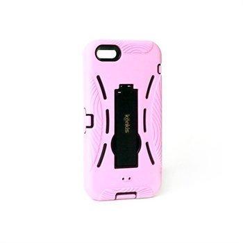 iPhone 5 / 5S / SE Konkis Defended Kovakuori Vaaleanpunainen