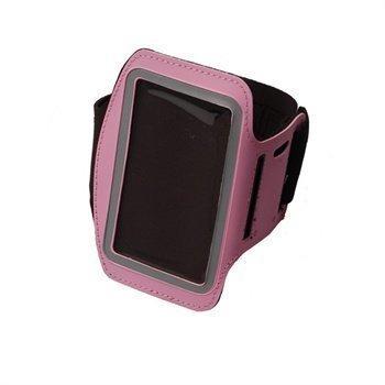 iPhone 5 / 5S / SE Konkis Käsivarsikotelo Vaaleanpunainen