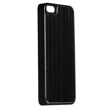 iPhone 5 / 5S / SE Krusell AluCover Kuori Tavallinen Musta