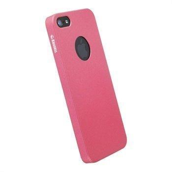 iPhone 5 / 5S / SE Krusell ColorCover Suojakuori Metallin Pinkki