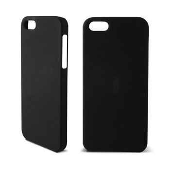 iPhone 5 / 5S / SE Ksix Hard Cover Black Rubber