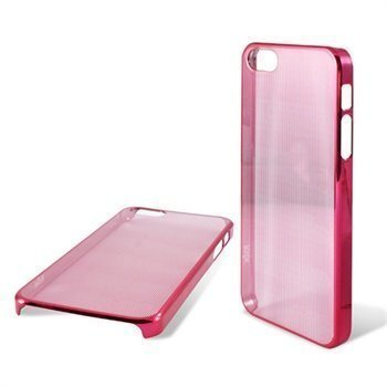 iPhone 5 / 5S / SE Ksix Laser Suojakuori Punainen