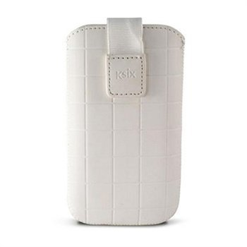 iPhone 5 / 5S / SE Ksix Roma Vertical Case White