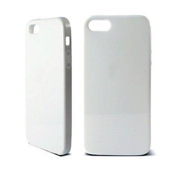 iPhone 5 / 5S / SE Ksix TPU Suojus Valkoinen