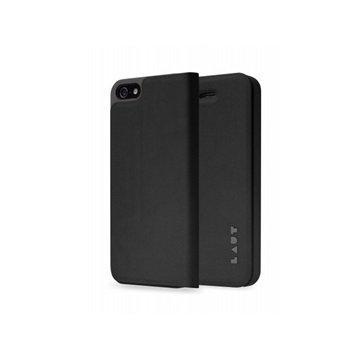 iPhone 5 / 5S / SE LAUT APEX Folio Case Black