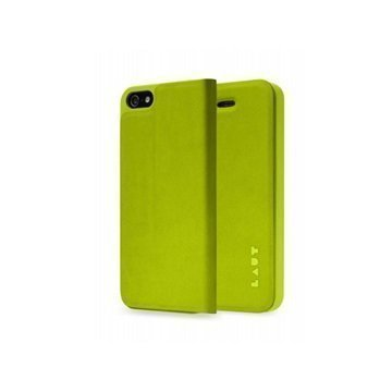 iPhone 5 / 5S / SE LAUT APEX Folio Case Green