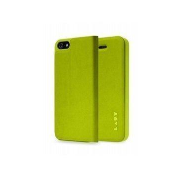iPhone 5 / 5S / SE LAUT APEX Folio Case Green