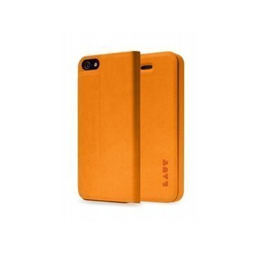 iPhone 5 / 5S / SE LAUT APEX Folio Case Orange