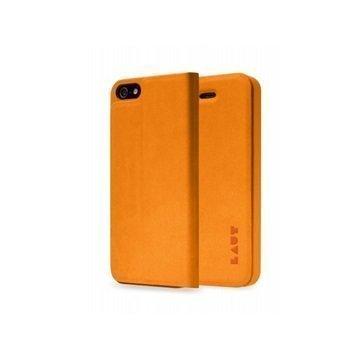 iPhone 5 / 5S / SE LAUT APEX Folio Case Orange