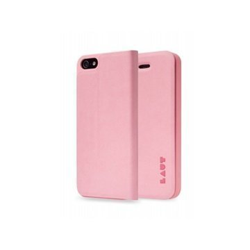 iPhone 5 / 5S / SE LAUT APEX Folio Case Pink