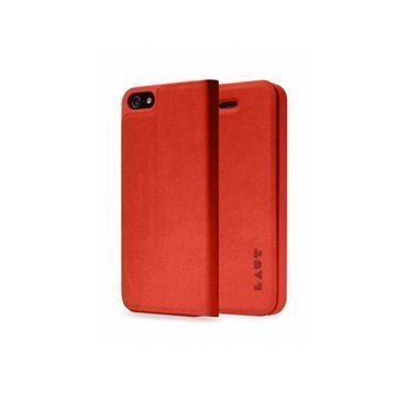 iPhone 5 / 5S / SE LAUT APEX Folio Case Red