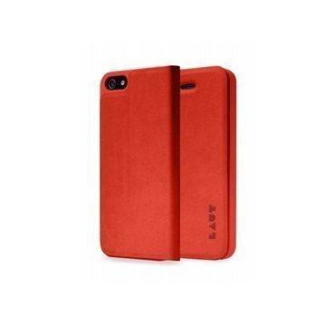iPhone 5 / 5S / SE LAUT APEX Folio Case Red