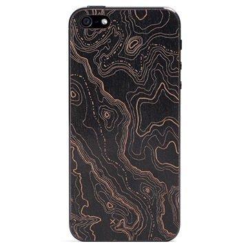 iPhone 5 / 5S / SE Lazerwood Suojakalvo Topo Black