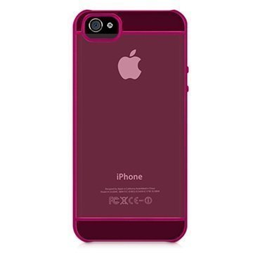 iPhone 5 / 5S / SE Macally Curve Kovakuori Pinkki