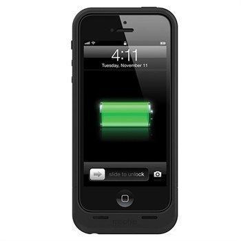 iPhone 5 / 5S / SE Mophie Juice Pack Air Akkukotelo Musta