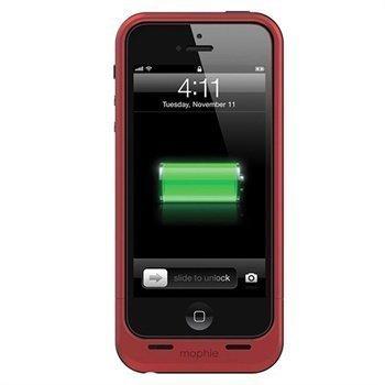 iPhone 5 / 5S / SE Mophie Juice Pack Air Akkukotelo Punainen
