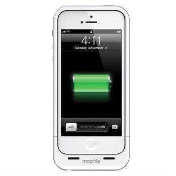 iPhone 5 / 5S / SE Mophie Juice Pack Air Akkukotelo Valkoinen