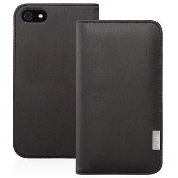 iPhone 5 / 5S / SE Moshi Overture Wallet Kotelo Musta