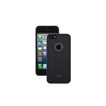 iPhone 5 / 5S / SE Moshi iGlaze Suojakotelo Musta