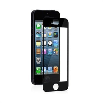 iPhone 5 / 5S / SE Moshi iVisor XT Näytönsuoja Musta