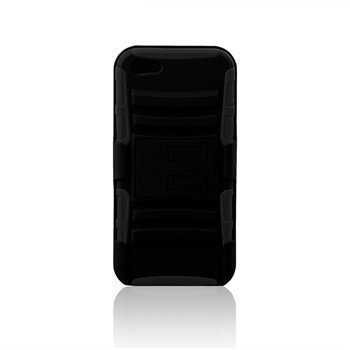 iPhone 5 / 5S / SE Naztech DoubleUp Plus Cover Black