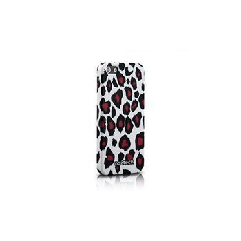 iPhone 5 / 5S / SE Naztech Safari Snap-On Cover Snow Leopard Print