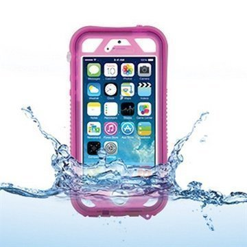 iPhone 5 / 5S / SE Naztech Vault Plus Waterproof Case Pink