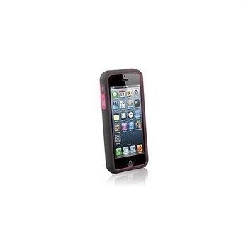iPhone 5 / 5S / SE Naztech Vertex 3-kerroksinen Kotelo Vaaleanpunainen