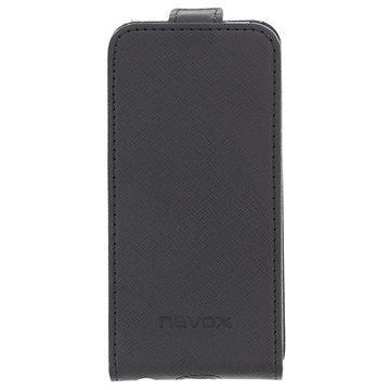 iPhone 5 / 5S / SE Nevox Relino Flip Case Black