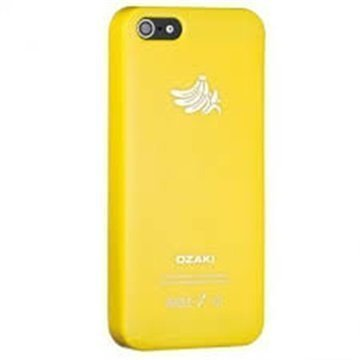 iPhone 5 / 5S / SE Ozaki O!Coat Fruit Click-On Suojakuori Banaani Keltainen