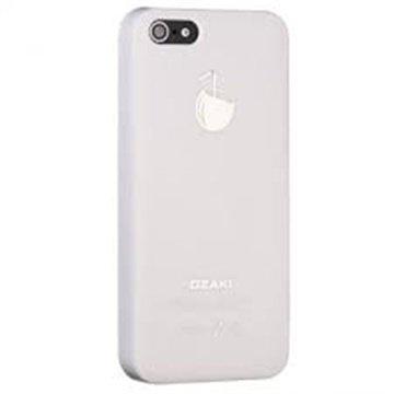 iPhone 5 / 5S / SE Ozaki O!Coat Fruit Click-On Suojakuori Kookospähkinä Valkoinen