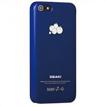 iPhone 5 / 5S / SE Ozaki O!Coat Fruit Click-On Suojakuori Mustikka Sininen