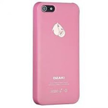 iPhone 5 / 5S / SE Ozaki O!Coat Fruit Click-On Suojakuori Persikka Pinkki