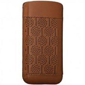 iPhone 5 / 5S / SE Ozaki O!Coat Nature Nahkakotelo Metsä Ruskea