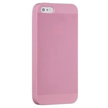 iPhone 5 / 5S / SE Ozaki O!Coat Spring Snap-on Cover Pink