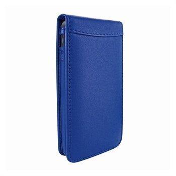 iPhone 5 / 5S / SE Piel Frama Classic Magnetic Nahkakotelo Sininen