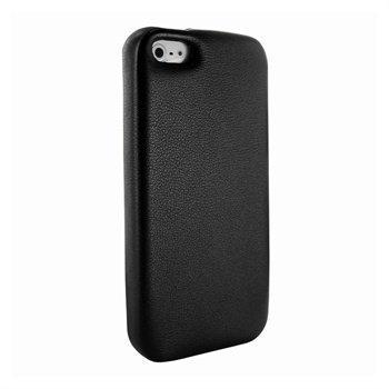 iPhone 5 / 5S / SE Piel Frama FramaGrip Nahkakotelo Musta