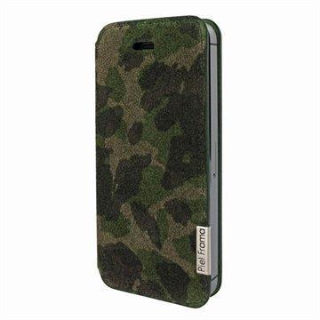 iPhone 5 / 5S / SE Piel Frama FramaSlim Nahkakotelo Camouflage