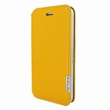 iPhone 5 / 5S / SE Piel Frama FramaSlim Nahkakotelo Keltainen