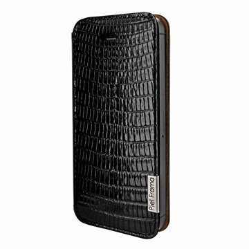 iPhone 5 / 5S / SE Piel Frama FramaSlim Nahkakotelo Lisko Musta