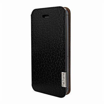 iPhone 5 / 5S / SE Piel Frama FramaSlim Nahkakotelo iForte Musta